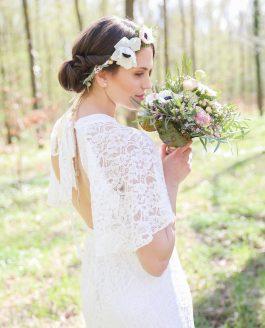Brautshooting mit Sara Bassano & Blumen von Florali